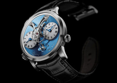 MB&F @GMT GREAT MASTERS OF TIME - LEGACY MACHINE N°1 PLATINUM